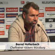 """Hollerbach: """"Unglaublich was die Mannschaft geleistet hat"""""""