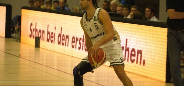 Kristof Schwarz beendet seine Basketballkarriere