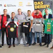 """Handball: """"Wir für den Handball in der Region!"""" – Das Derby für den guten Zweck"""