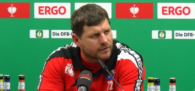 """Baumgart: """"Wir können etwas Großes im DFB-Pokal erreichen!"""""""