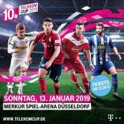 Telekom Cup –  zehn Jahre Top-Fußball in der Saisonpause