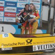 BSD mit neun Podiumsplätzen beim Bob-Europacup Christoph Hafer und Laura Nolte setzen Glanzpunkte