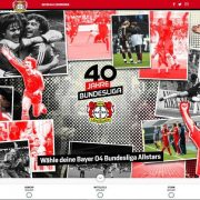 """""""40 Jahre Bundesliga unter dem Bayer-Kreuz"""" – Bayer Allstars gesucht"""