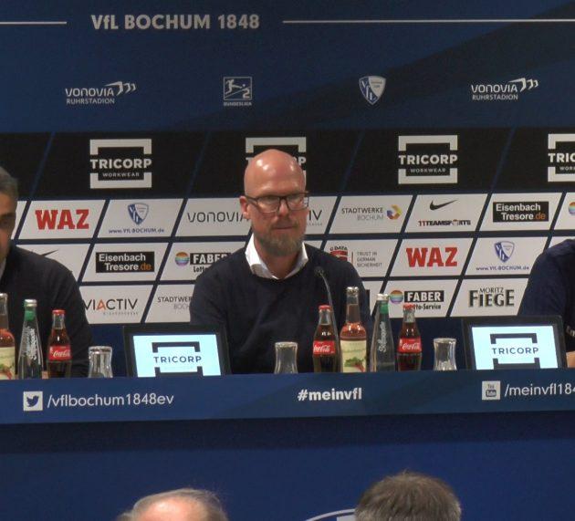 Robin Dutt hat nach dem Match Bochum – HSV viele Fans mit einem Lächeln gesehen