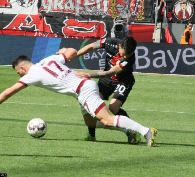 Fotostrecke Bayer 04 Leverkusen – 1. FC Nürnberg