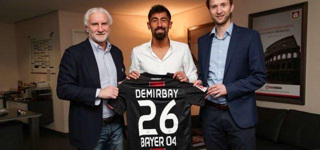 Bayer 04 verpflichtet Mittelfeldstrategen Kerem Demirbay