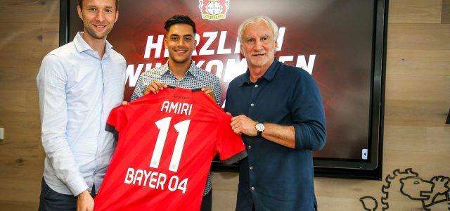 Vize-Europameister Amiri verstärkt die Werkself