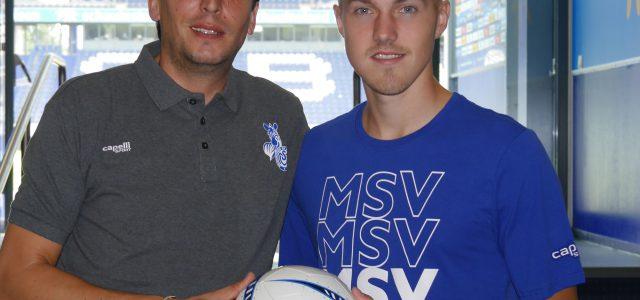 """""""Paradebeispiel, was beim MSV möglich ist"""": Lukas Daschner verlängert bis 2021"""