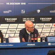 Die Pressekonferenz nach dem Bochumer 2:0 Sieg gegen Aue