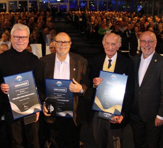 Paderborn: Eindrucksvolle Zahlen und mehrere Ehrungen auf der Mitgliederversammlung