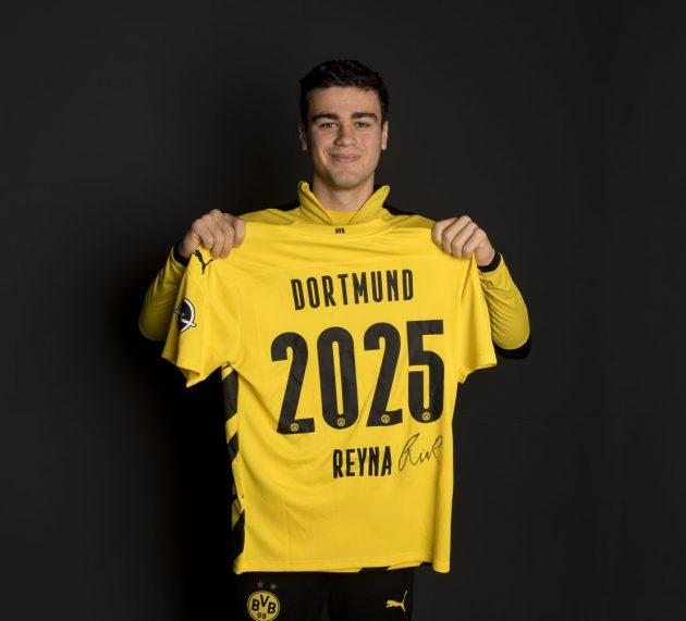 Borussia Dortmund verlängert bis 2025 mit Gio Reyna