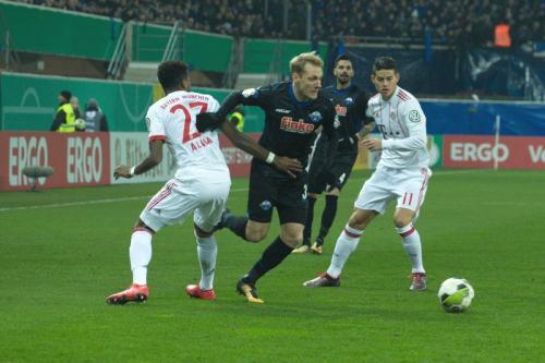 DFB Pokal Viertelfinale SC Paderborn - FC Bayern