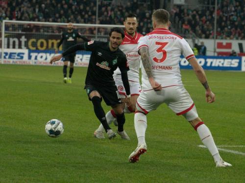 18. Bundesliga Spieltag Fortuna Düsseldorf - Werder Bremen