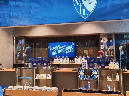 Fanshop Eröffnung beim VFL Bochum
