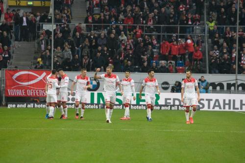 20. Bundesliga Spieltag Fortuna Düsseldorf - Eintracht Frankfurt
