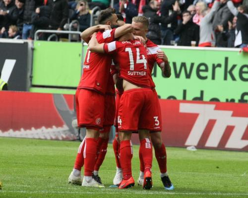 30. Bundesliga Spieltag Fortuna Düsseldorf - Werder Bremen