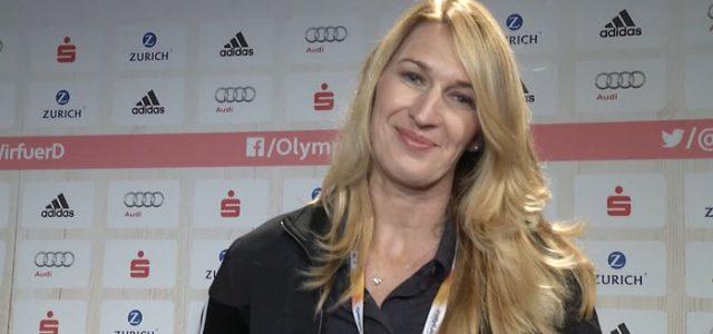 Steffi Graf zu Gast bei Olympia