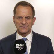 "DOSB Präsident Hörmann: ""An diesem Tag ist alles anders"""