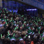 Singen statt kicken! Weihnachtssingen in der MSV-Heimspielstätte ein Volltreffer