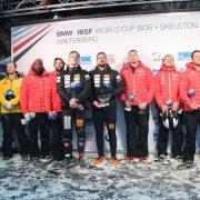 Die Schweizer Clemens Bracher/Michael Kuonen siegen sensationell bei ihrem Weltcup-Debüt