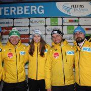 Großes Lob für IBSF Europacup-Finale Bob in Winterberg BSC-Trio Bennet Buchmüller sowie Laura und Pablo Nolte mit positiver Saisonbilanz