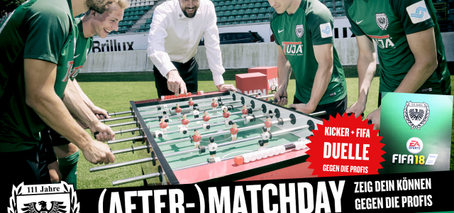 (After-)Matchday in den Münster Arkaden