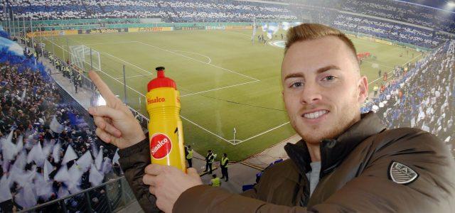 Mark Flekkens Sinalco-Trinkflasche wird zugunsten der zebrakids versteigert! – Sponsiorenmesse am 15.3.