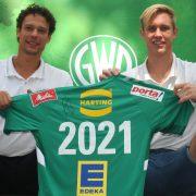 Handball-Nationalspieler Marian Michalczik verlängert bis 2021  bei GWD Minden