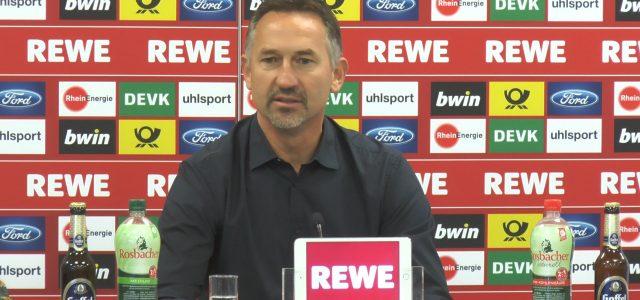 FC-Gremien sprechen Achim Beierlorzer das Vertrauen aus