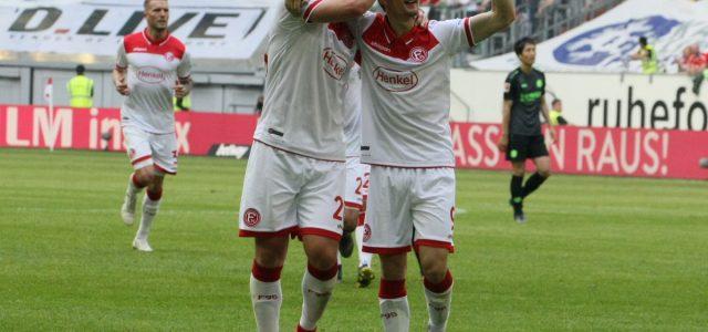 Fotostrecke: 2:1 gegen Hannover 96! Fortuna Düsseldorf beendet eine tolle Saison auf Rang zehn