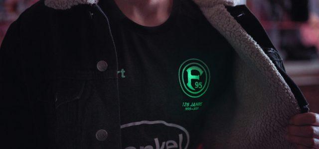 Fankurve inspiriert neues Ausweichtrikot – F95-Logo leuchtet im Dunkeln