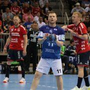 Löwen verabschieden sich mit ganz viel Biss gegen den neuen Deutschen Meister Flensburg
