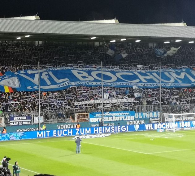 Keine Zuschauer im Vonovia Ruhrstadion gegen Heidenheim