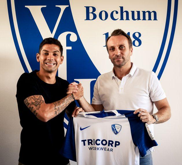 VfL verpflichtet Cristian Gamboa