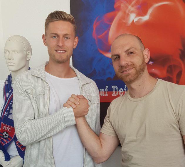 KFC leiht Oliver Steurer vom FC Heidenheim aus