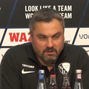 """Bochums Trainer Reis: """"Ich distanzieren mich von unseren Fans, die gewisse Plakate hochhalten"""""""