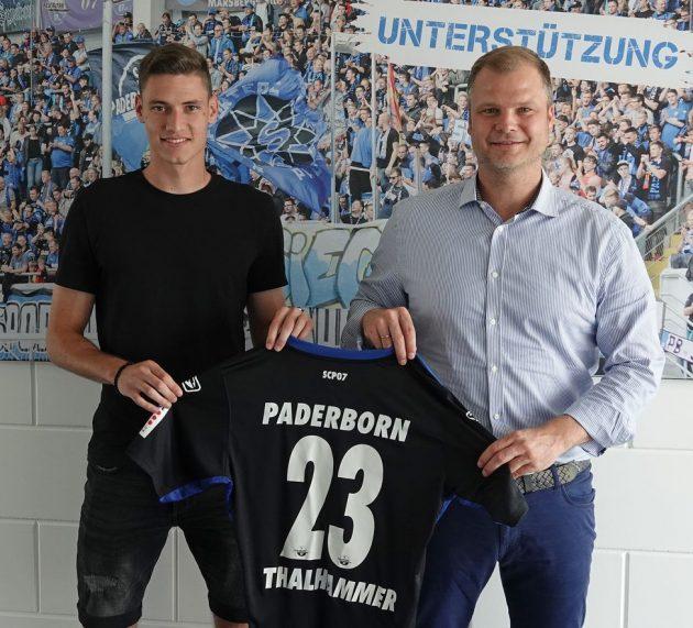 Paderborn: Mittelfeldspieler Thalhammer kommt vom FC Ingolstadt