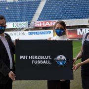 """""""Mit Herzblut. Fußball."""" – Mit Leitbild und Slogan in die Saison 2020/2021"""