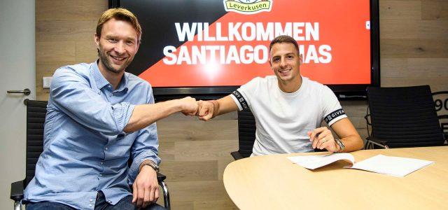 Bayer 04 verpflichtet Rechtsverteidiger Santiago Arias von Atlético Madrid