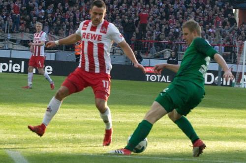 Bundesliga 20. Spieltag: 1. FC Köln - FC Augsburg