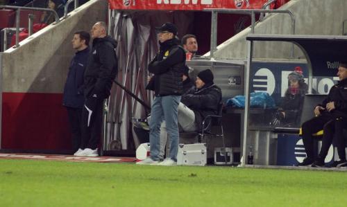 Bundesliga 21. Spieltag: 1. FC Köln - Borussia Dortmund