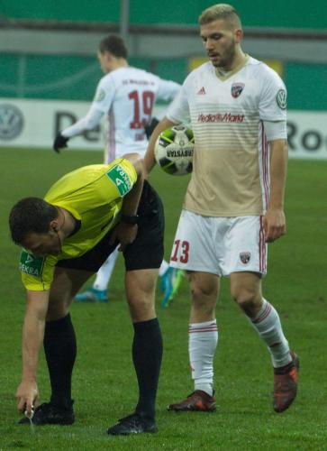 DFB Pokal: SC Paderborn - FC Ingolstadt