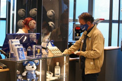 VFL Bochum Eröffnung des neuen Fanshop