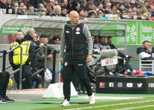 0. Bundesliga Spieltag Fortuna Düsseldorf - Eintracht Frankfurt