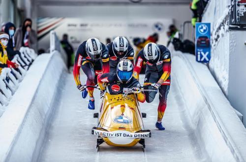 BMW IBSF Bob und Skeleton Weltcup